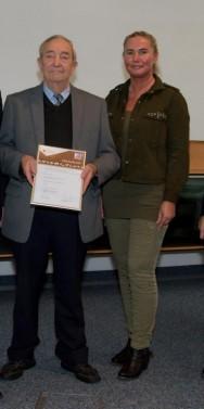 Auszeichnung für langjährigen Tierschützer